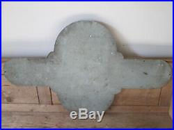 Bedford sales and service aluminium sign. Vintage sign. Enamel sign. Garage sign