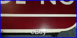 British rail Blackpool North Railway sign vintage totem BR enamel Station