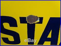 Colman's Mustard Vintage Original Enamel Sign
