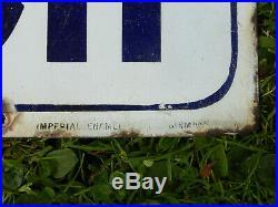 Colman's Starch Vintage Original Enamel Sign