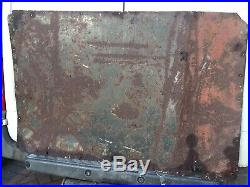 Enamel Sign BP Motor Spirit 54x36 Vintage Antique Classic Car Garage Old Rare