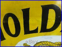 Holdfast Boots Vintage Enamel Sign