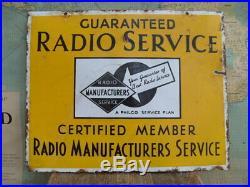 Job Lot X5 Vtg Old Enamel Signs Colman's Mustard Shell Bp Van Houten's Radio Etc
