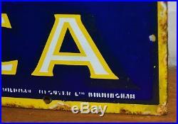 Lyons tea enamel sign advertising mancave garage metal vintage retro kitchen ant