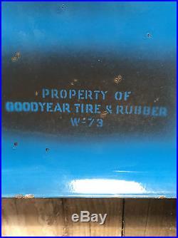 Original Vintage Enamel Goodyear Tires Letters 24 Signage Classic Cars