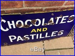 Original Vintage Rowntrees Enamel Sign