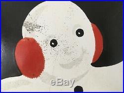 Snoboy Picked for Flavor Porcelain Enamel Sign Vintage Classic 23 Diameter