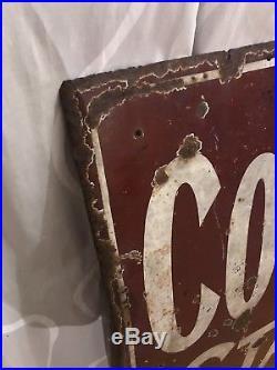 Vintage Colmans Starch Enamel Sign