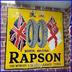 Vintage Enamel Sign Rapson # 3600 Sn83