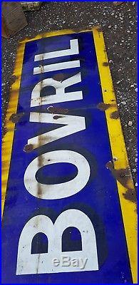 Vintage Enamel Sign large Bovril advertising