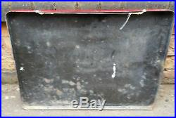 Vintage Enamel Train Sign Railway Danger Speed Limit 5 MPH