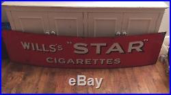 Vintage enamel wills signs